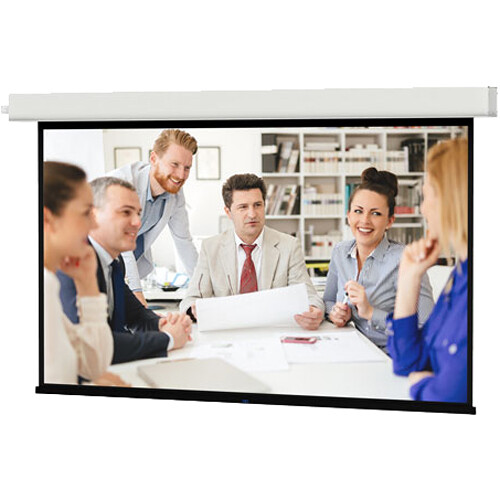 "Da-Lite Viewshare Advantage 220V 123""/16:10 - Matte White HC with Video Projector Interface"