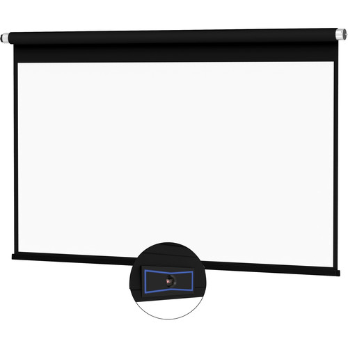 "Da-Lite 24121FLSR ViewShare Advantage Electrol 72.5 x 116"" Ceiling-Recessed Motorized Screen (120V, No Box)"