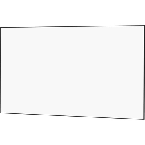 "Da-Lite 24380 50 x 80"" UTB Contour Fixed Frame Screen (HD Progressive 0.6, Acid Etched Black Frame)"