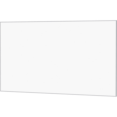 "Da-Lite 24406 57.5 x 92"" UTB Contour Fixed Frame Screen (Da-Mat, Acid Etched Silver Frame)"