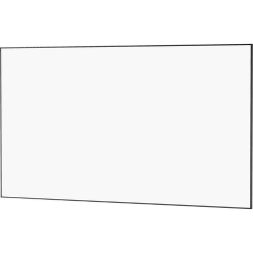 "Da-Lite 24448 65 x 104"" UTB Contour Fixed Frame Screen (Da-Mat, High Gloss Black Frame)"