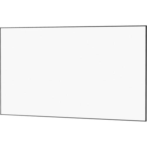 "Da-Lite 24484 72.5 x 116"" UTB Contour Fixed Frame Screen (Da-Mat, High Gloss Black Frame)"