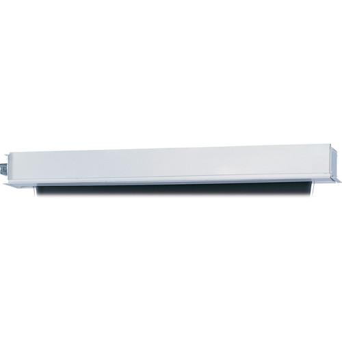 "Da-Lite 24717EBLR Tensioned Advantage Electrol 87 x 139"" Ceiling-Recessed Motorized Screen (220V, Box Only)"
