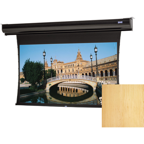 "Da-Lite 24748ELHMV Tensioned Contour Electrol 72.5 x 116"" Motorized Screen (220V)"