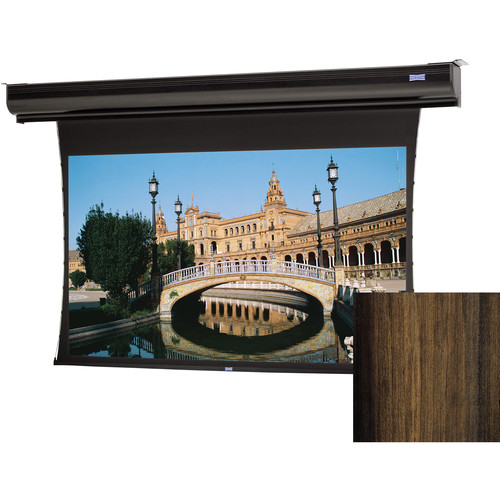 "Da-Lite 24748ELHWV Tensioned Contour Electrol 72.5 x 116"" Motorized Screen (220V)"