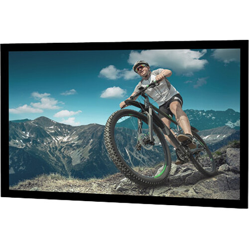 "Da-Lite 24753 Tensioned Advantage Electrol 45 x 80"" Ceiling-Recessed Motorized Screen (120V)"