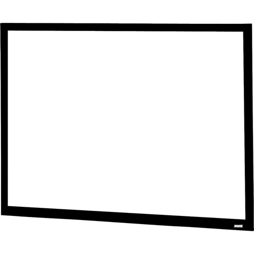 "Da-Lite 24798V Da-Snap 72.5 x 116"" Fixed Frame Screen"