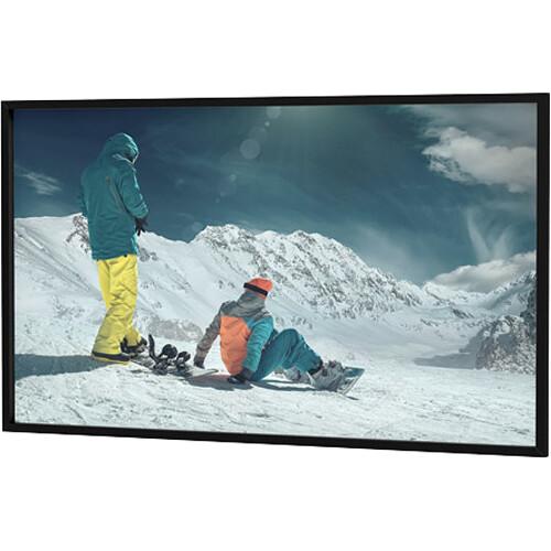 """Da-Lite 24812V 81.5 x 192"""" Da-Snap Fixed Frame Screen (HD Progressive 1.3, Pro-Trim Frame)"""