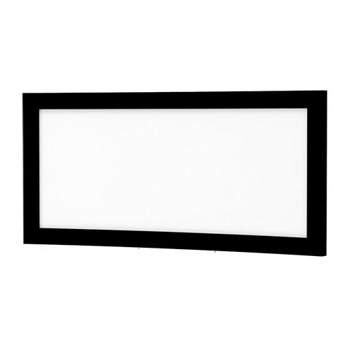 """Da-Lite 24843V Curved Multi Format Imager 80 x 192"""" Fixed Frame Screen (120 V)"""