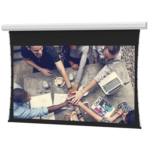 "Da-Lite Tensioned Large Cosmopolitan Electrol 92 x 164"" 16:9 Screen with HD Progressive 1.3 Surface"