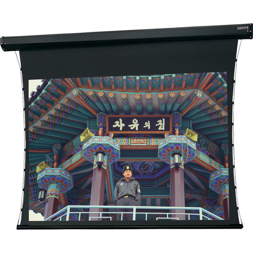 "Da-Lite Tensioned Large Cosmopolitan Electrol 108 x 192"" 16:9 Screen with HD Progressive 1.3 Surface (Black Case, 220V)"