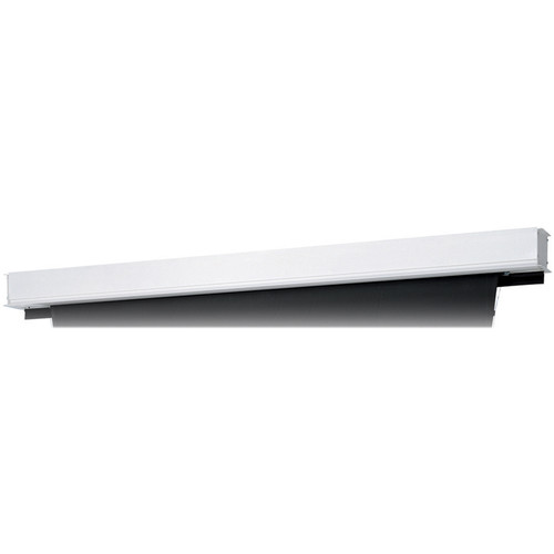 "Da-Lite 24856BR Tensioned Advantage Deluxe Electrol 50 x 80"" Ceiling-Recessed Motorized Screen (120V, Box Only)"