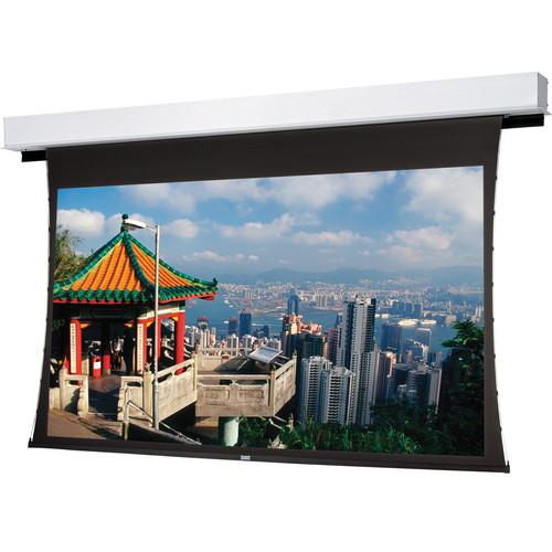 "Da-Lite 24861E Tensioned Advantage Deluxe Electrol 72.5 x 116"" Ceiling-Recessed Motorized Screen (220V)"