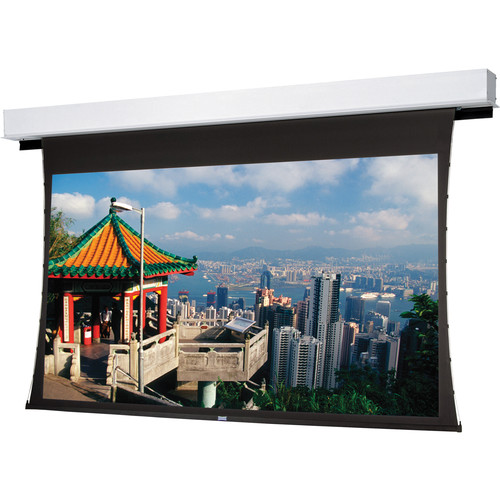 """Da-Lite 24865E Tensioned Large Advantage Deluxe Electrol 121 x 216"""" Ceiling Recessed Motorized Screen (220V)"""