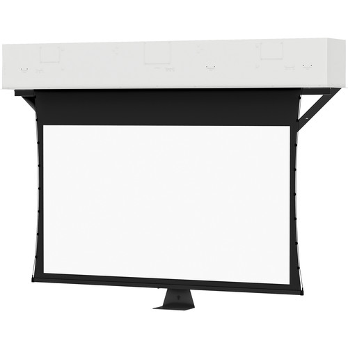 """Da-Lite 24876E Tensioned Conference Electrol 57.5 x 92"""" Ceiling-Recessed Motorized Screen (220V)"""