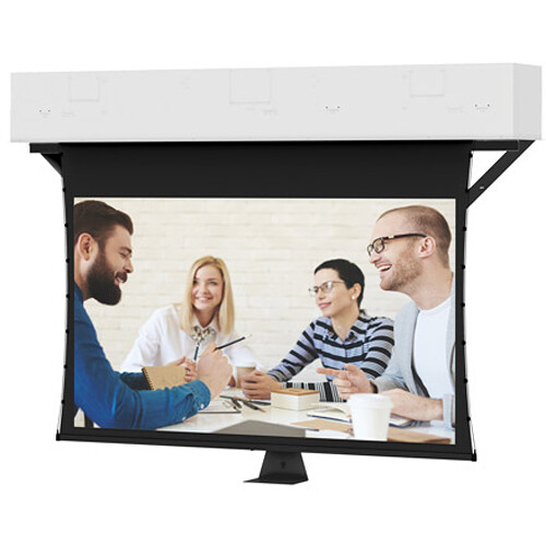 """Da-Lite 24878 65 x 104"""" Conference Electrol Tensioned Ceiling-Recessed Screen"""