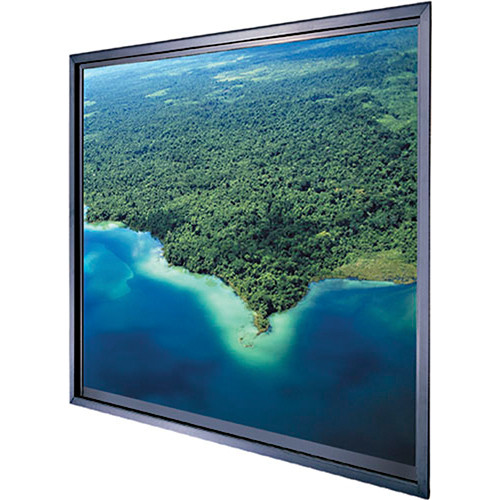 "Da-Lite Polacoat Da-Glas In-Wall Square Format Rear Projection Diffusion Screen (50 x 50 x 0.25"", Standard Frame)"