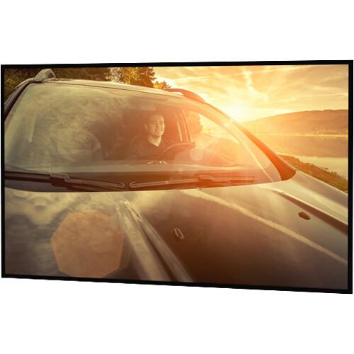 "Da-Lite Polacoat Da-Glas In-Wall HDTV Format Rear Projection Diffusion Screen (52 x 92 x 0.25"", Standard Frame)"