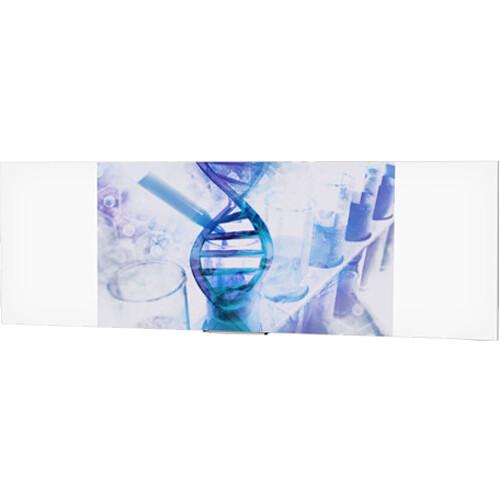 "Da-Lite IDEA Panoramic 16:9 HDTV Format Screen with 24"" Marker Tray (46 x 168"")"