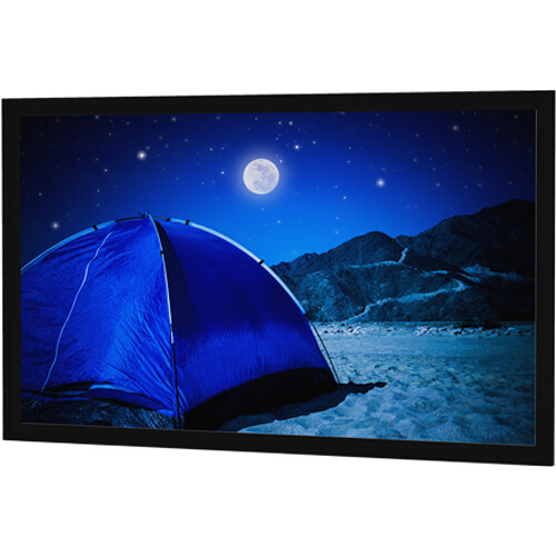"Da-Lite 28858V Parallax 58 x 136.5"" Fixed Frame Projection Screen"