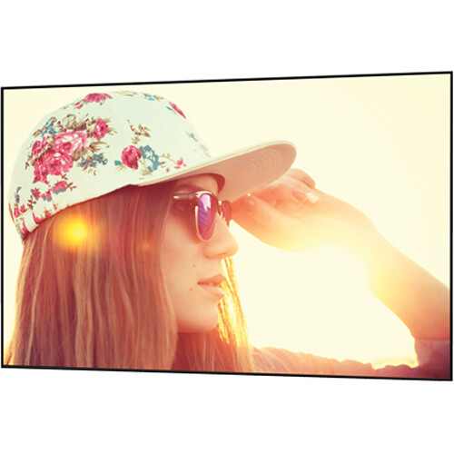 "Da-Lite 29172 Parallax Thin 45 x 80"" Fixed Frame Projection Screen"