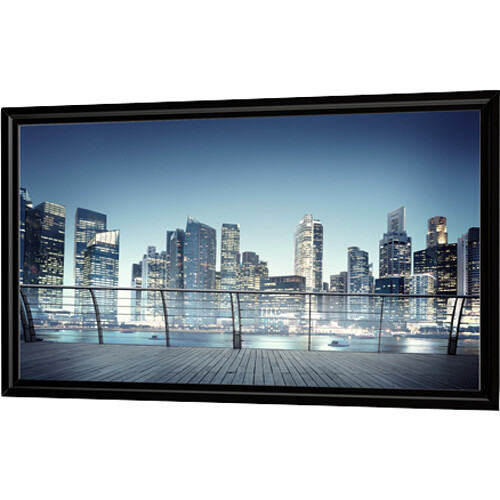 "Da-Lite 29527 Flex Plex 58 x 104"" In-Wall Flexible Projection Screen"