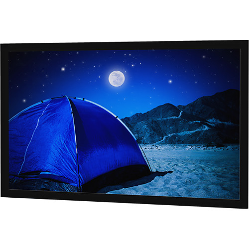 """Da-Lite 29838V 49 x 87"""" Fixed Frame Projection Screen with Parallax Pure 2.3 Surface"""