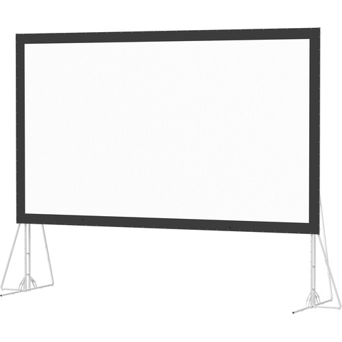 Da-Lite 35458N Heavy Duty Fast-Fold Deluxe 7.5 x 13.3' Folding Projection Screen (No Case, No Legs)
