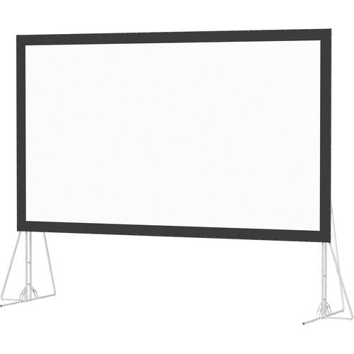 Da-Lite 35458N Heavy Duty Fast-Fold Deluxe 7.5 x 13.3' Folding Projection Screen (No Case, No Legs)