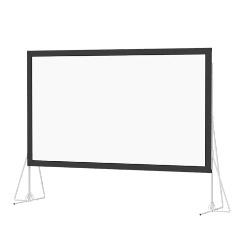 Da-Lite 35463N Heavy Duty Fast-Fold Deluxe 10.5 x 18.7' Folding Projection Screen (No Case, No Legs)