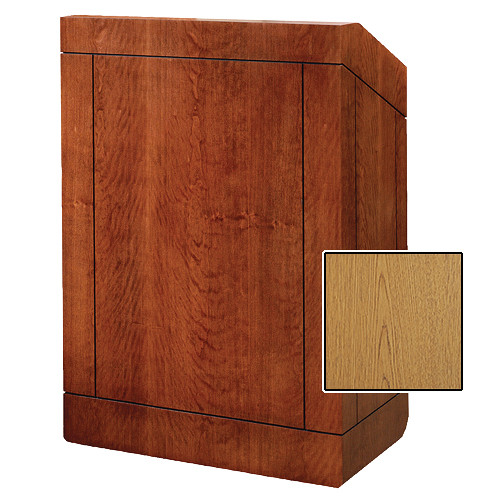 "Da-Lite 25"" Providence Tabletop Lectern (Light Oak Laminate)"