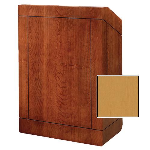 """Da-Lite Providence Tabletop Lectern (25"""", Honey Maple Veneer)"""