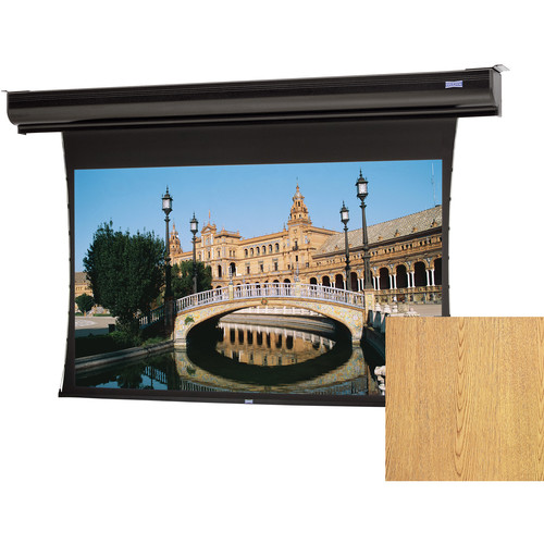 "Da-Lite 37605LSILOV Tensioned Contour Electrol 69 x 110"" Motorized Screen (120V)"