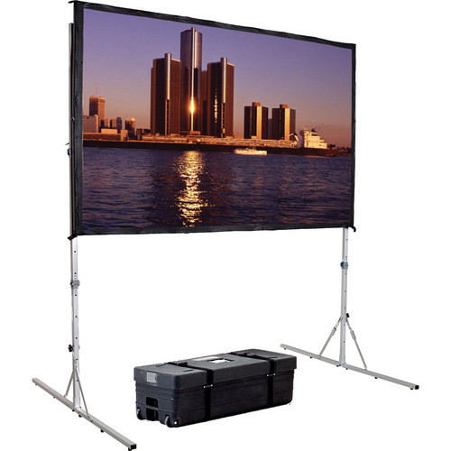 "Da-Lite Da-Mat 77 x 120"" Front Projection Fast-Fold Deluxe Complete Screen"