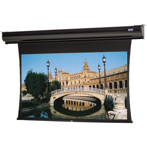 "Da-Lite 38793EL Tensioned Contour Electrol 65 x 116"" Motorized Screen (220V)"