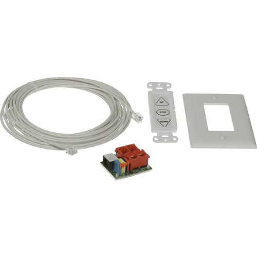 Da-Lite 38885 Built-In Smart Motor Hardware Kit (White)