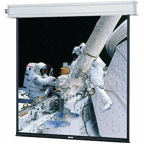 "Da-Lite 70137EL Advantage Electrol 72.5 x 116"" Ceiling-Recessed Motorized Screen (220V)"
