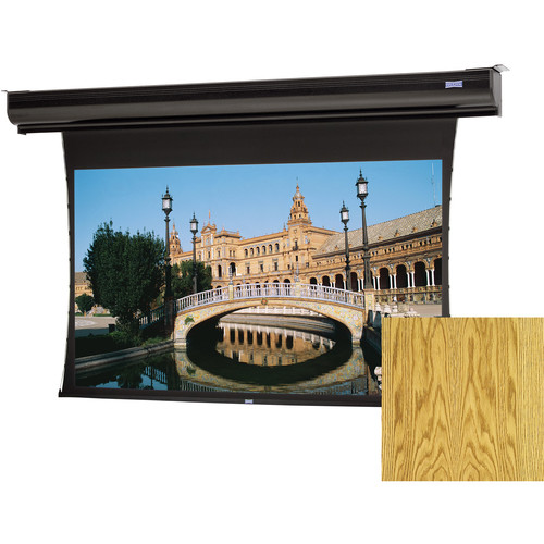 "Da-Lite 70179LSMOV Tensioned Contour Electrol 72.5 x 116"" Motorized Screen (120V)"