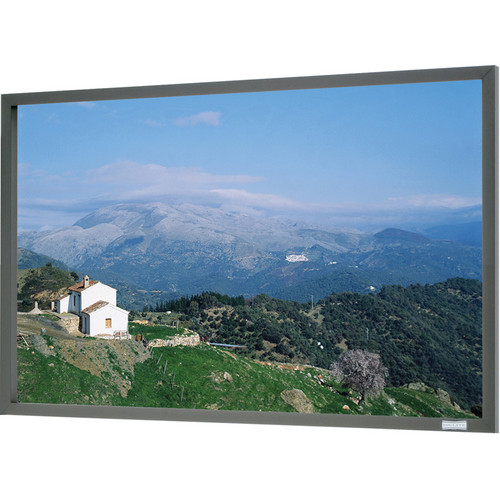 "Da-Lite 70381 110 x 176"" Da-Snap Fixed Frame Screen (High Contrast Da-Mat)"