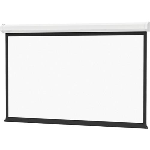 "Da-Lite 74663IVN 57 x 77"" Cosmopolitan Electrol Wall & Ceiling Screen (Veneer Case)"