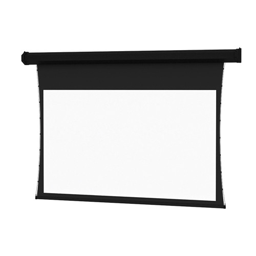 """Da-Lite 76019IVN 60 x 80"""" Tensioned Cosmopolitan Electrol Wall/Ceiling Projection Screen (Video Projector Interface)"""