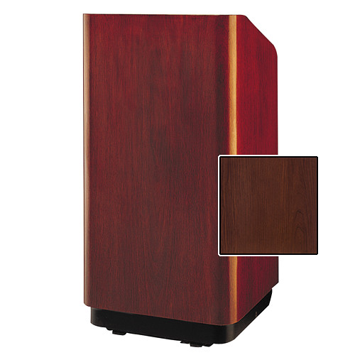 "Da-Lite Concord Special Needs Adjustable Floor Lectern (42"", Cherry Laminate, 220V)"