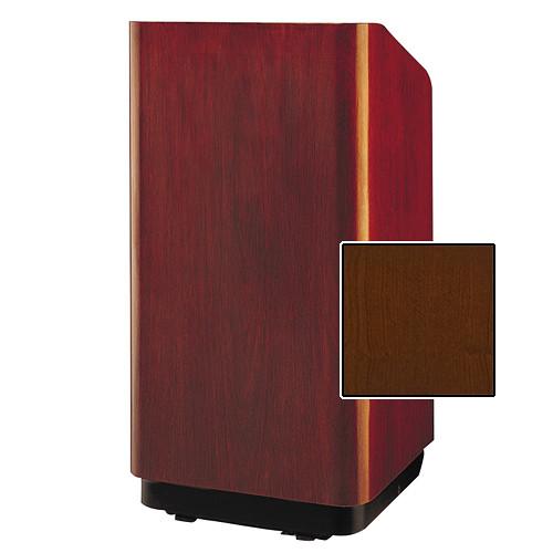 """Da-Lite Concord Special Needs Adjustable Floor Lectern (42"""", Cherry Veneer, 220V)"""