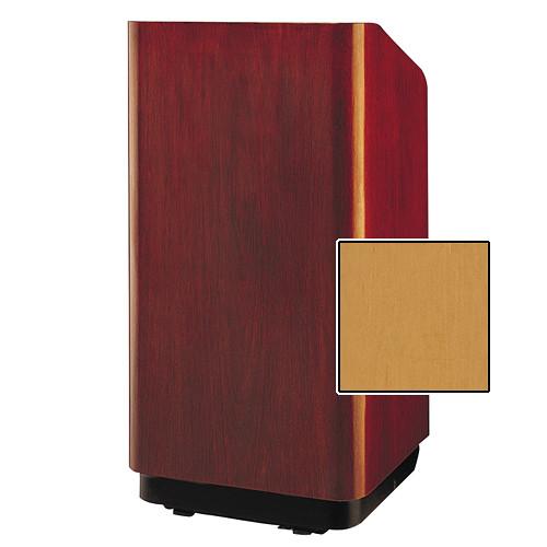 "Da-Lite Concord Special Needs Adjustable Floor Lectern (42"", Honey Maple Veneer, 220V)"