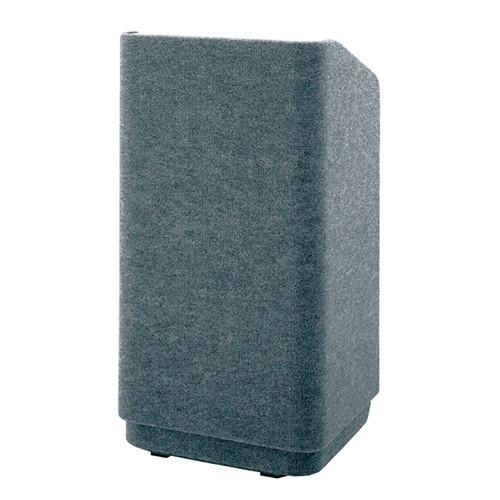 "Da-Lite Concord Special Needs Adjustable Floor Lectern (42"", Gray Carpet, 220V)"
