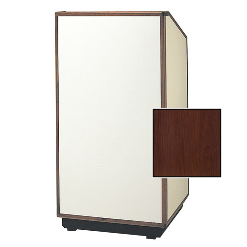 "Da-Lite Cambridge 42"" Special Needs Floor Lectern with Electric Height Adjustment (Standard Cherry Laminate)"