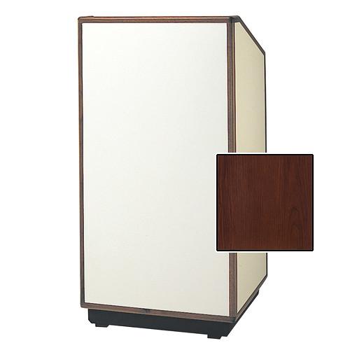 "Da-Lite Cambridge Special Needs Adjustable Floor Lectern (42"", Cherry Laminate, Wood Trim, 220V)"