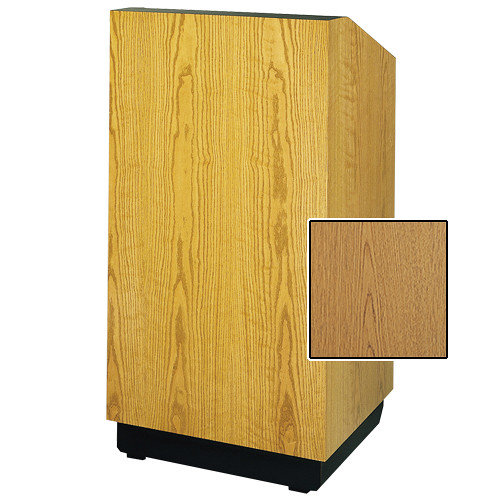 "Da-Lite Lexington Special Needs Adjustable Floor Lectern (42"", Light Oak Laminate, 220V)"