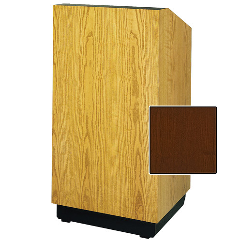 "Da-Lite Lexington Special Needs Adjustable Floor Lectern (42"", Cherry Veneer, 220V)"