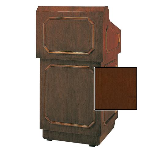 "Da-Lite Hamilton Special Needs Adjustable Floor Lectern (42"", Cherry Veneer, 220V)"